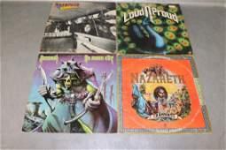 4 Vintage Nazareth Vinyl Record Albums