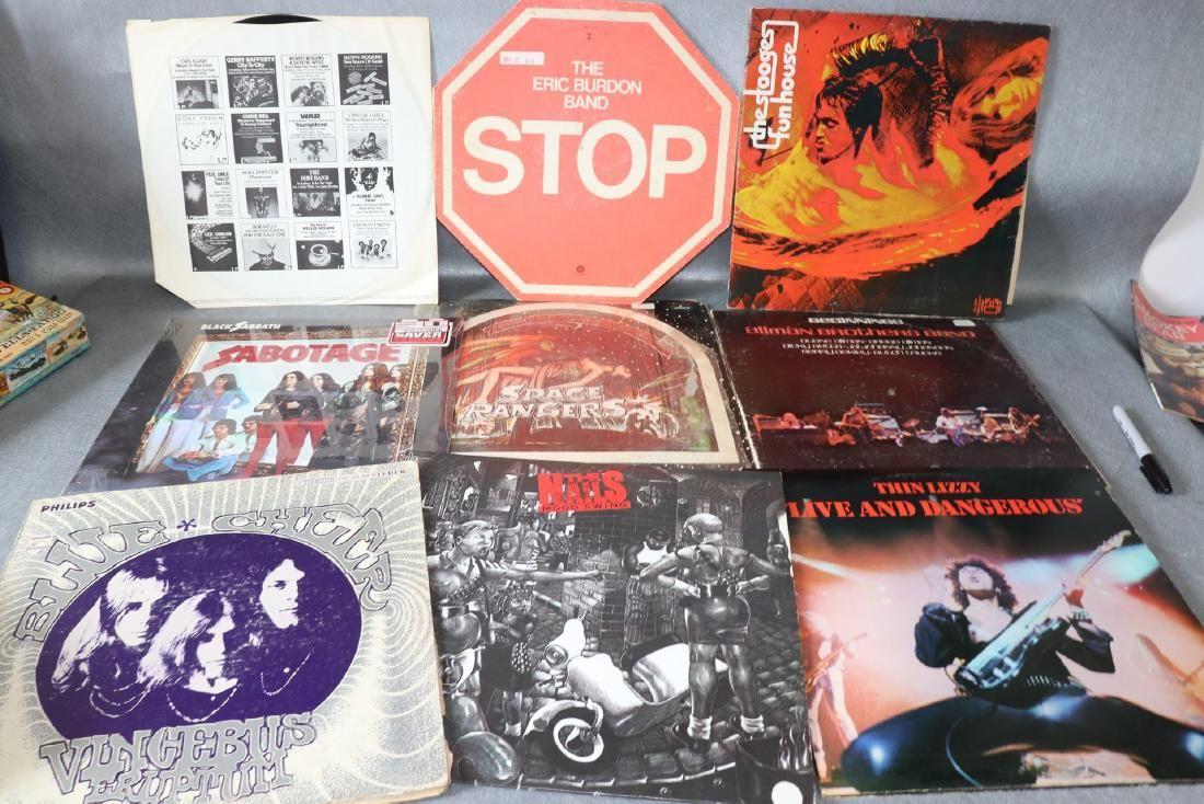 10 Vintage Vinyl Record Albums