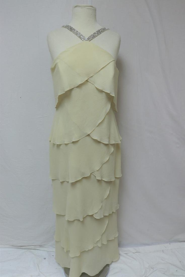 Vintage 1980's/90's Daymoor Couture Silk Gown