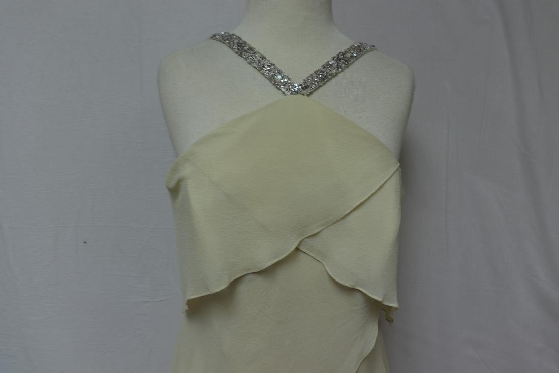Vintage 1980's/90's Daymoor Couture Silk Gown - 2