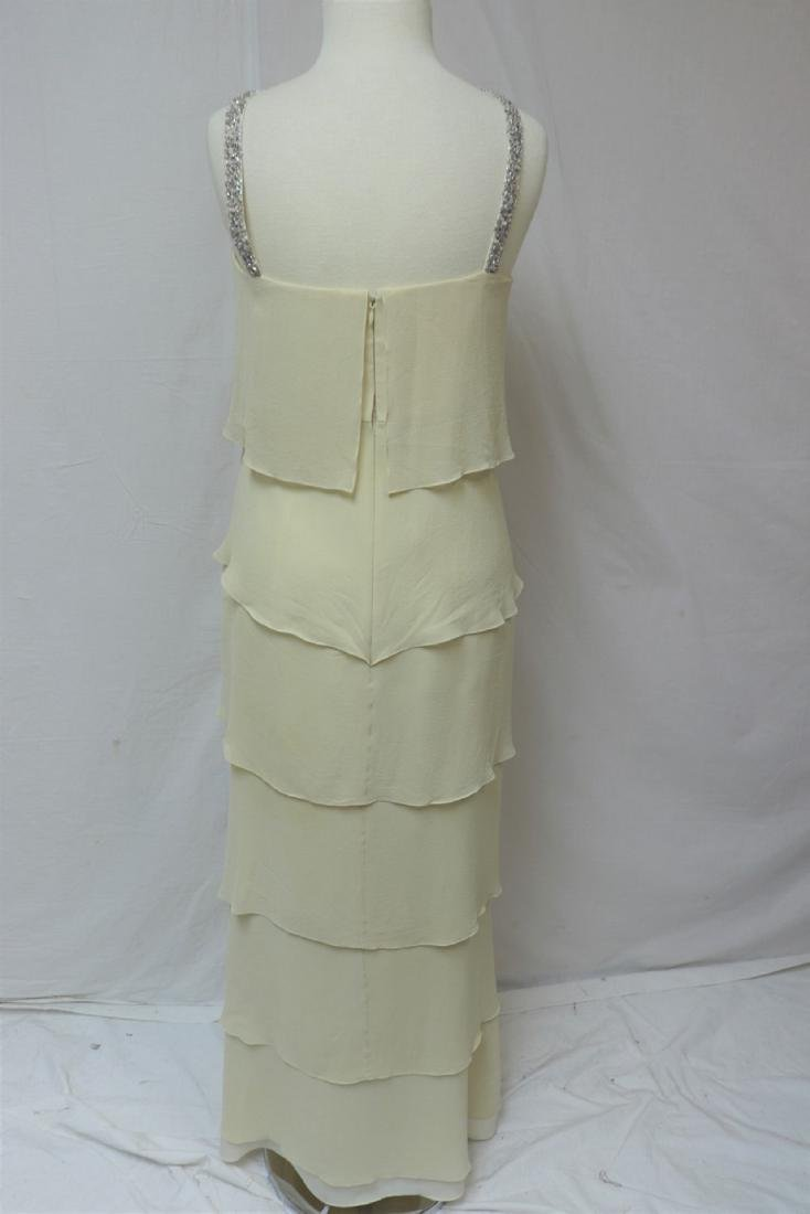 Vintage 1980's/90's Daymoor Couture Silk Gown - 3