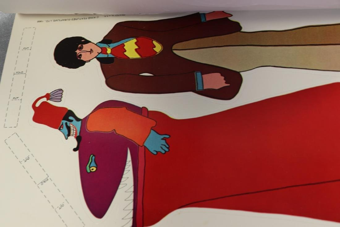 1968 The Beatles Yellow Submarine Pop Out Decoration - 6
