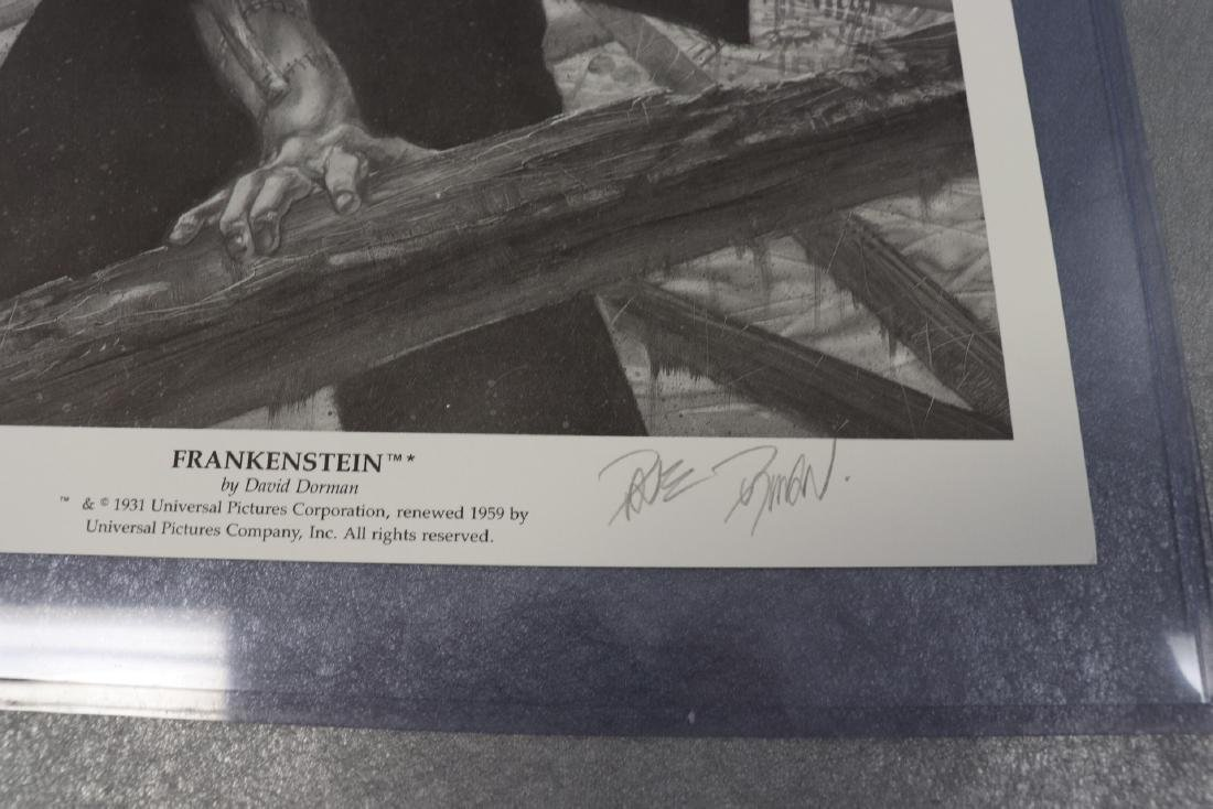 Signed And Numbered Print Frankenstein by Jefferey R. - 2