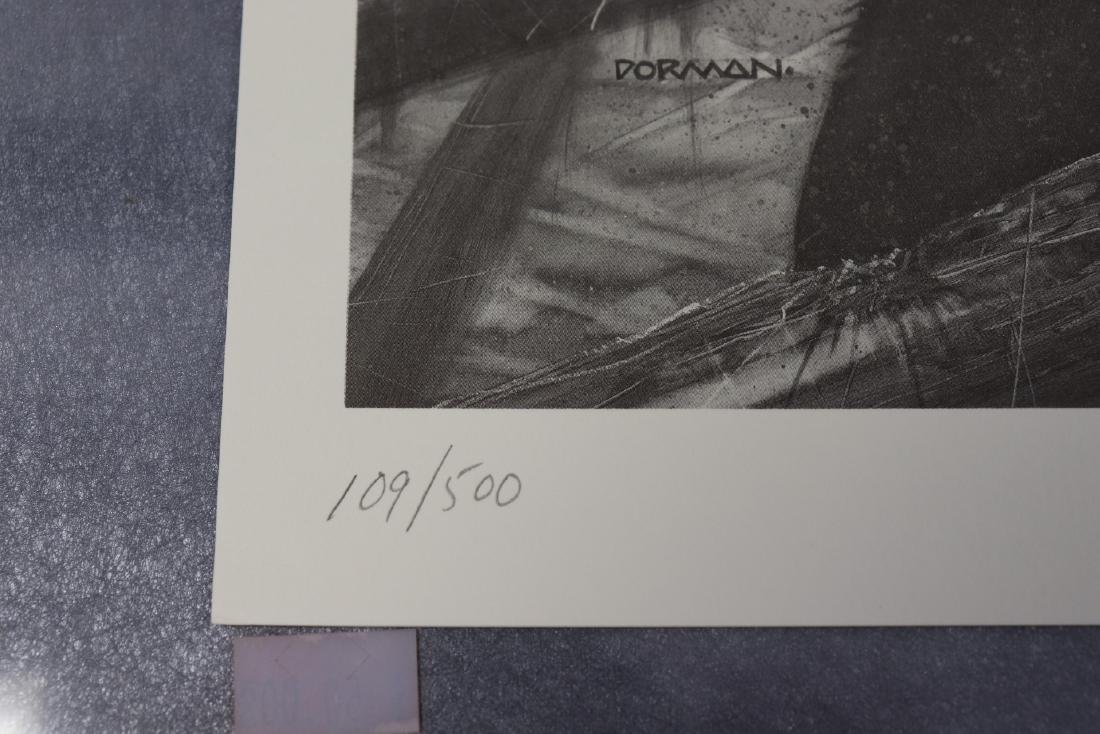 Signed And Numbered Print Frankenstein by Jefferey R. - 3