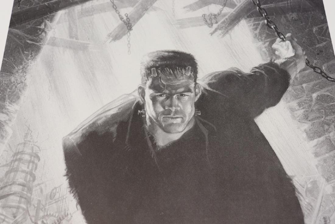 Signed And Numbered Print Frankenstein by Jefferey R. - 4