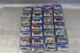 Large Lot of 24 Vintage Hot Wheels Old Store Stock in