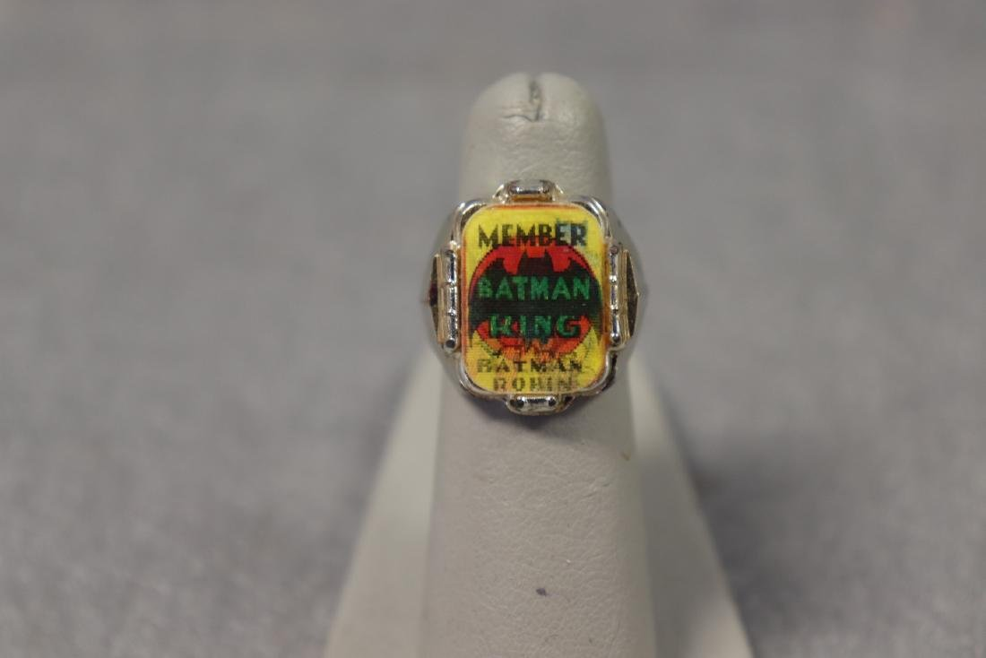 Vintage Batman & Robin Ring