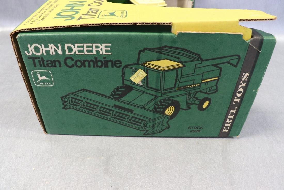 Ertl, John Deere Titan Combine, New in Box - 4