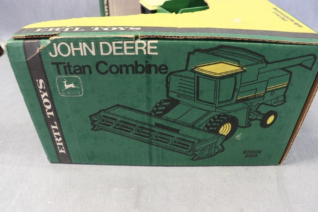 Ertl, John Deere Titan Combine, New in Box - 6