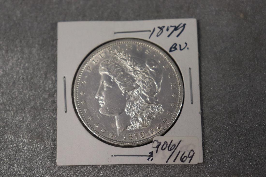 1879 Morgan Silver Dollar BU