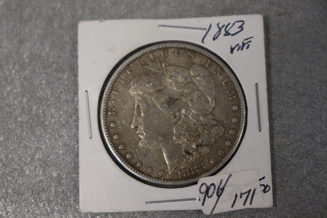 1883 Morgan Silver Dollar VF