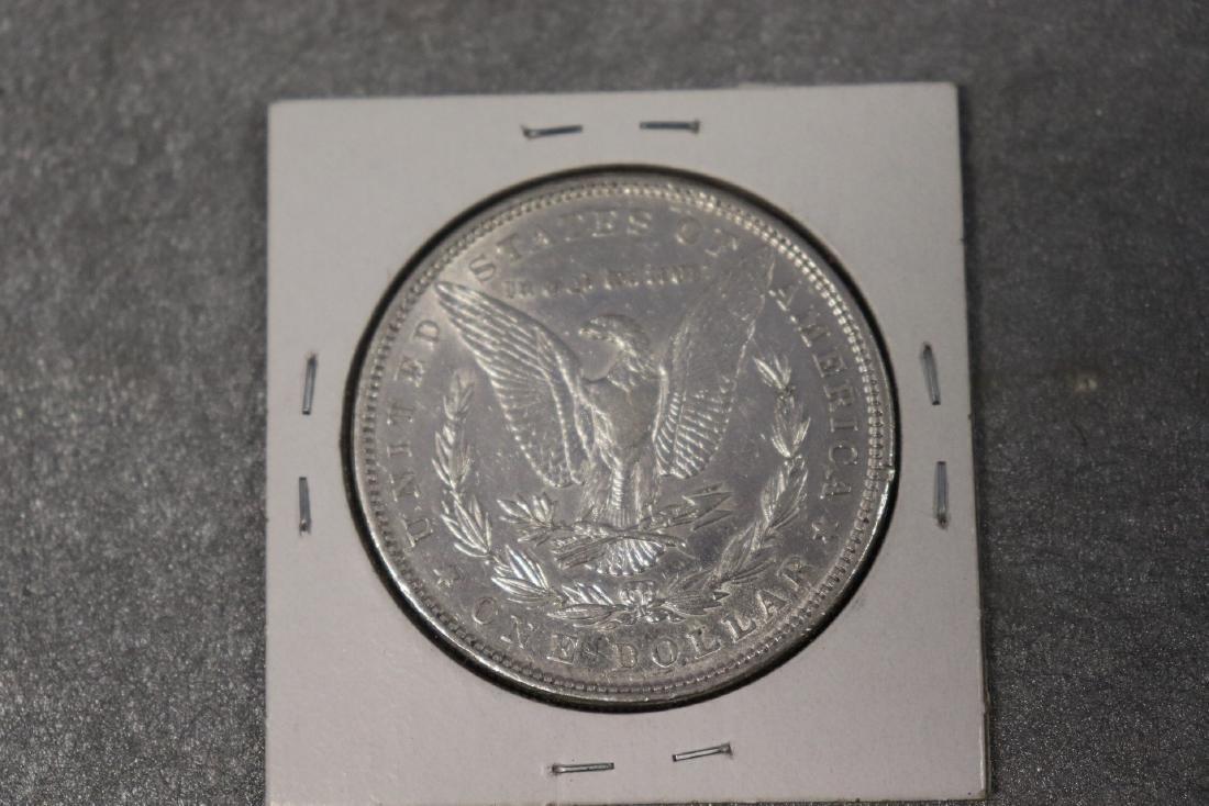 1879 Morgan Silver Dollar AU - 2