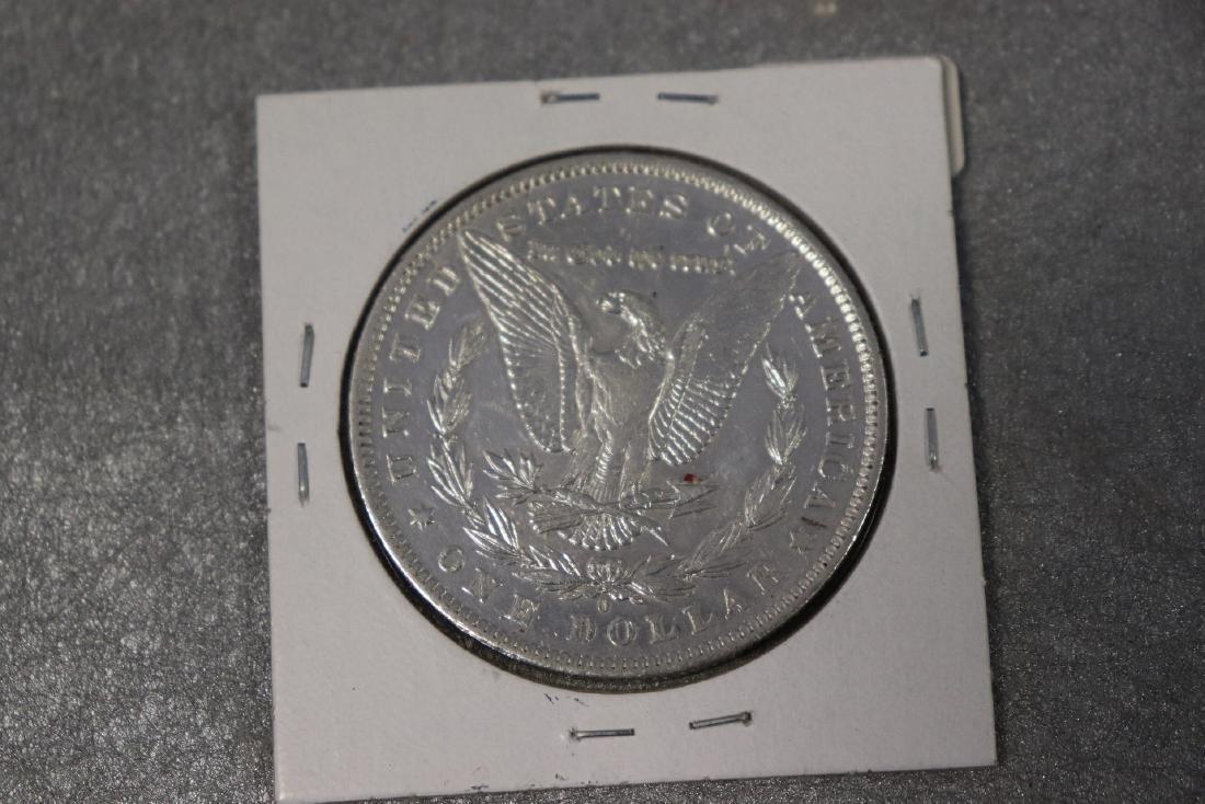 1884 O, Morgan Silver Dollar AU - 2