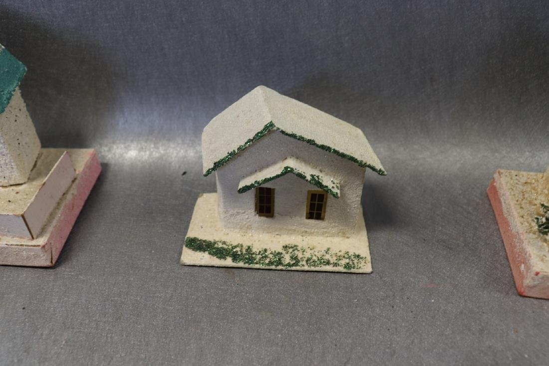 Lot of Vintage 1950's Christmas House's with Lights - 8