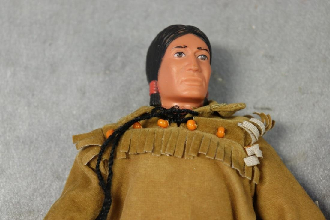Lot of 3 Action figures, 1973 Lone Ranger & Tonto And - 4