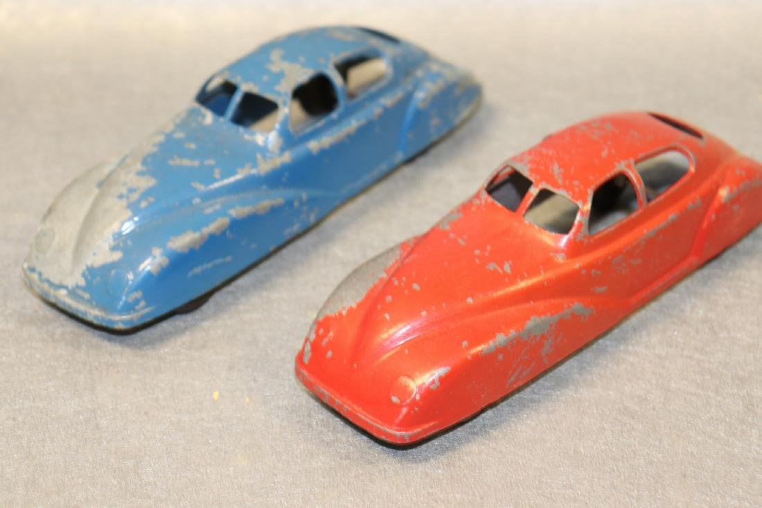 Lot of 2 Antique Jane Francis Cars