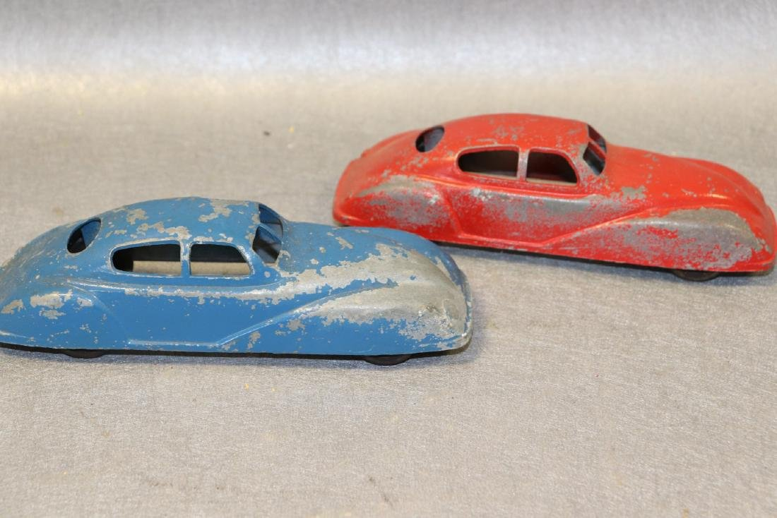 Lot of 2 Antique Jane Francis Cars - 2