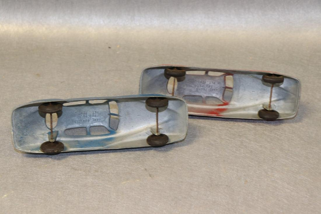 Lot of 2 Antique Jane Francis Cars - 3