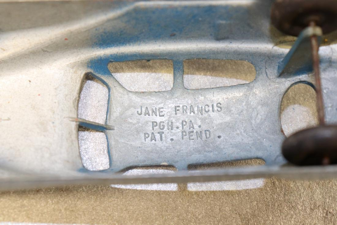 Lot of 2 Antique Jane Francis Cars - 4
