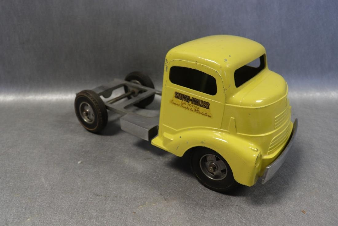 1949 Smith Miller Tractor Trailer Cab in Yellow