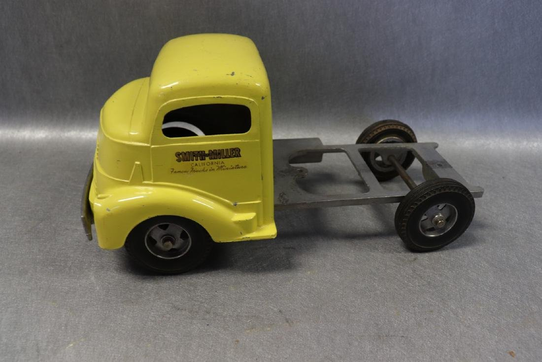 1949 Smith Miller Tractor Trailer Cab in Yellow - 3