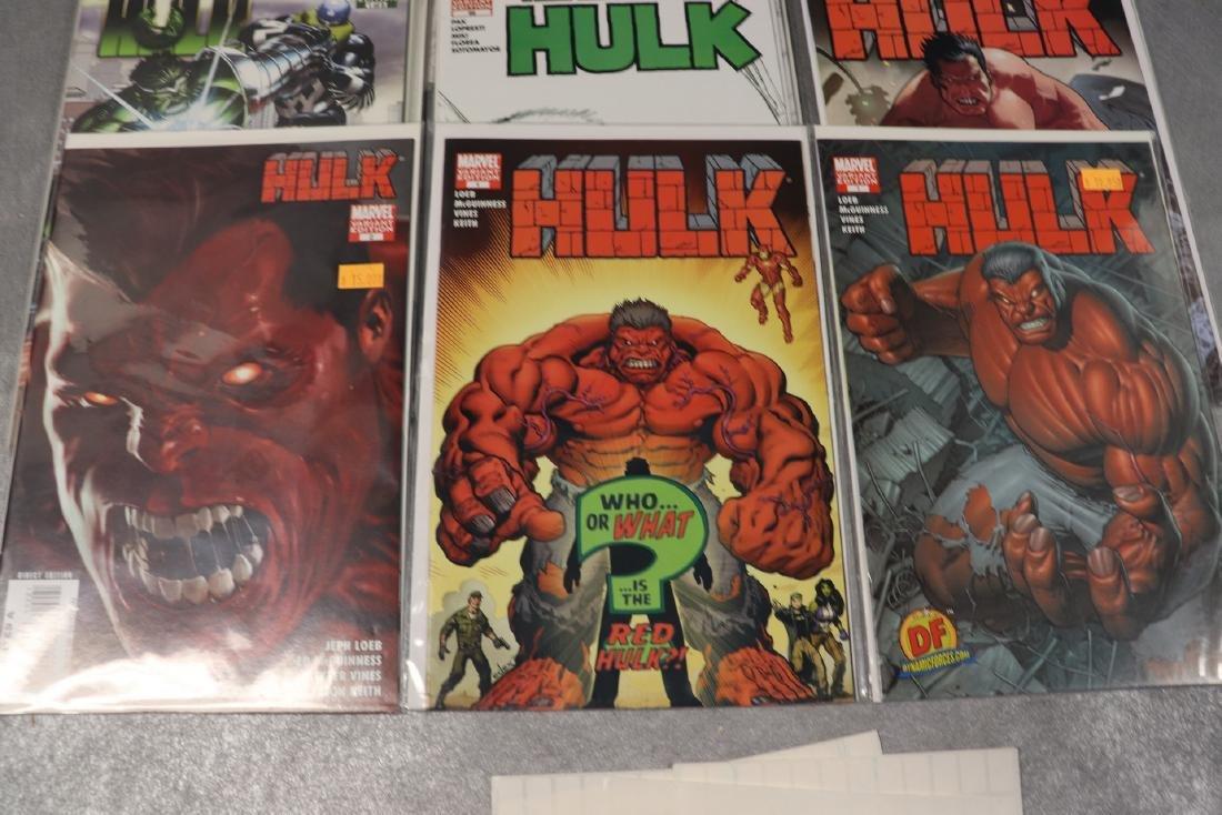 Lot of Marvel World War & Hulk Comics - 2
