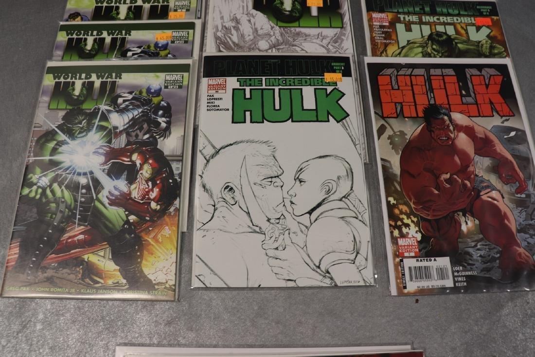 Lot of Marvel World War & Hulk Comics - 3