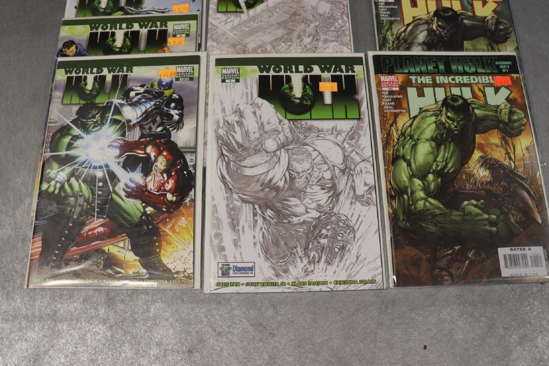 Lot of Marvel World War & Hulk Comics - 4