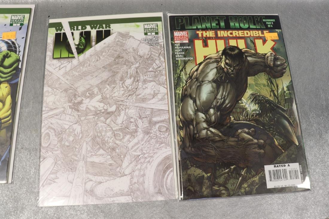 Lot of Marvel World War & Hulk Comics - 6
