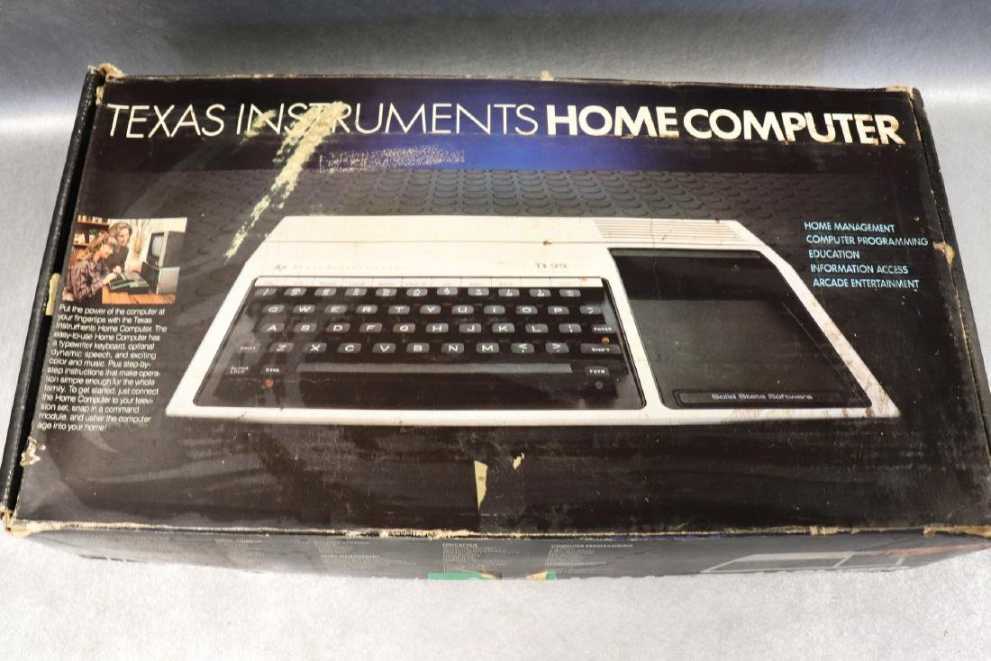 Texas Instruments Home Computer, TI-99/4A