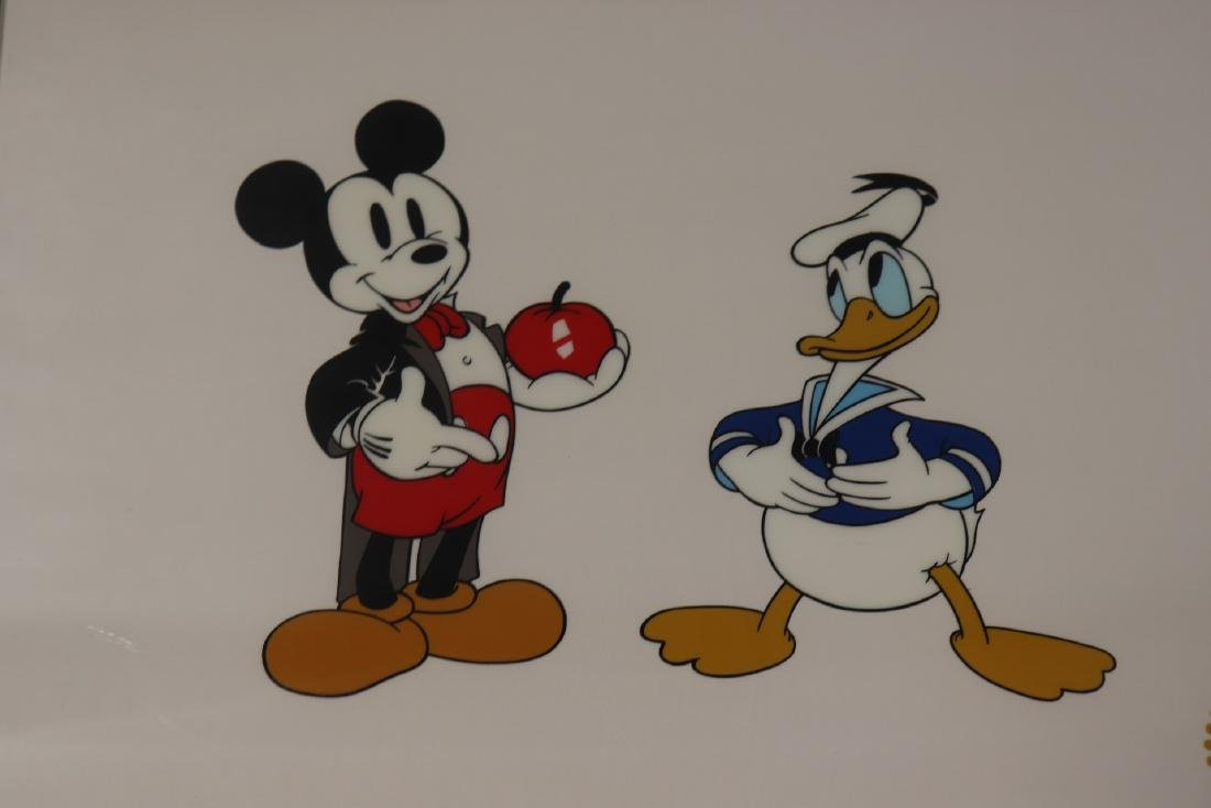 Disney Limited Ed. Serigraph, 1937 Mickey's Amateurs - 2