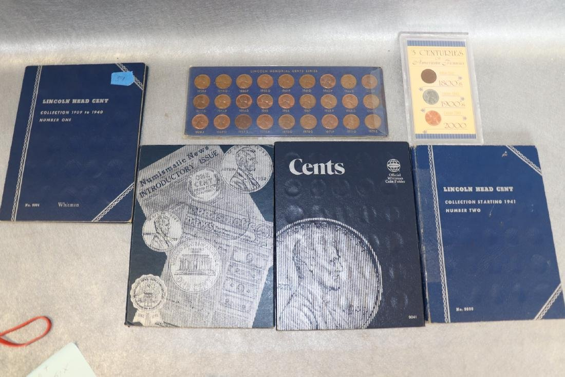 Lot of Lincoln Cent Collections