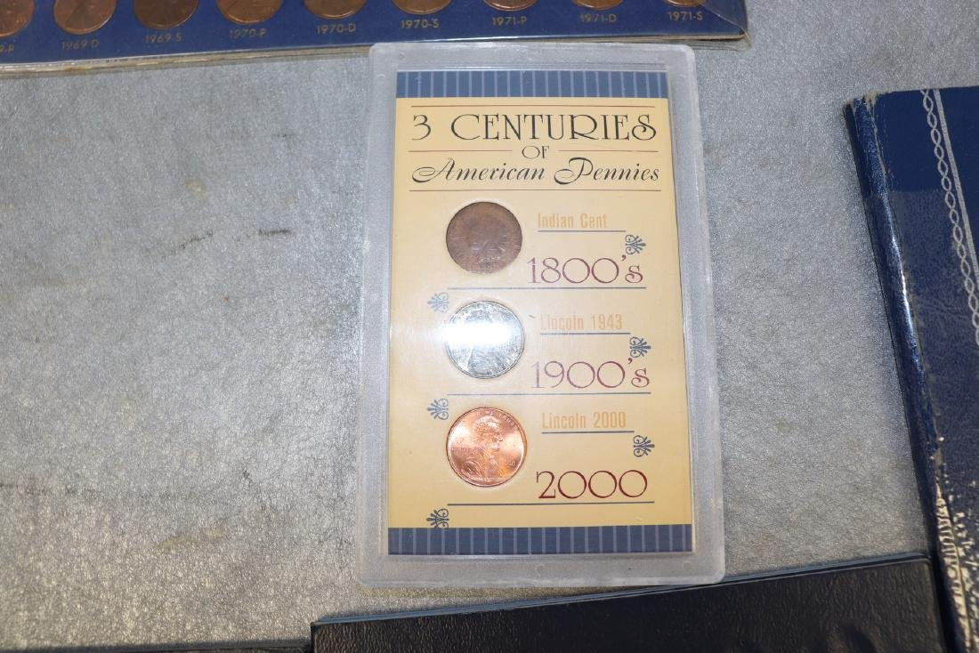 Lot of Lincoln Cent Collections - 2