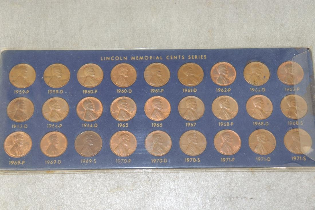 Lot of Lincoln Cent Collections - 4