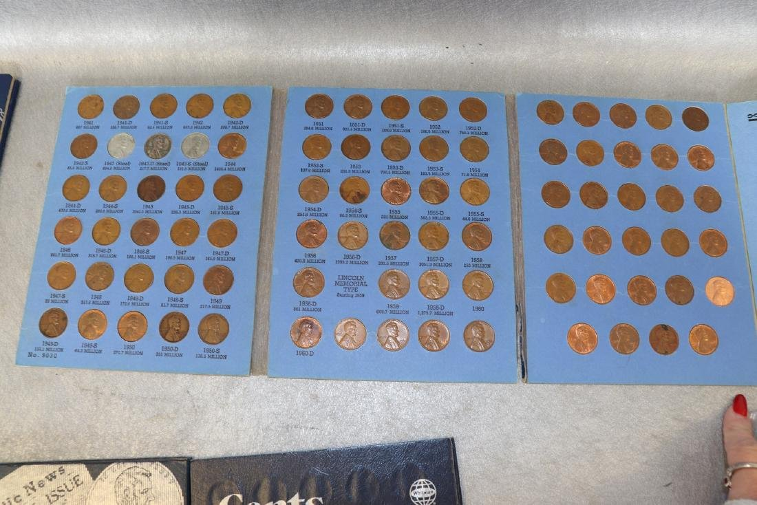 Lot of Lincoln Cent Collections - 5
