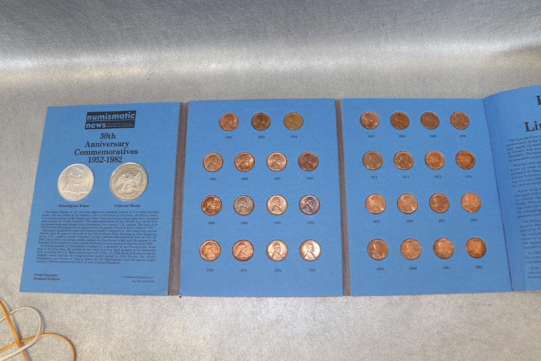 Lot of Lincoln Cent Collections - 8