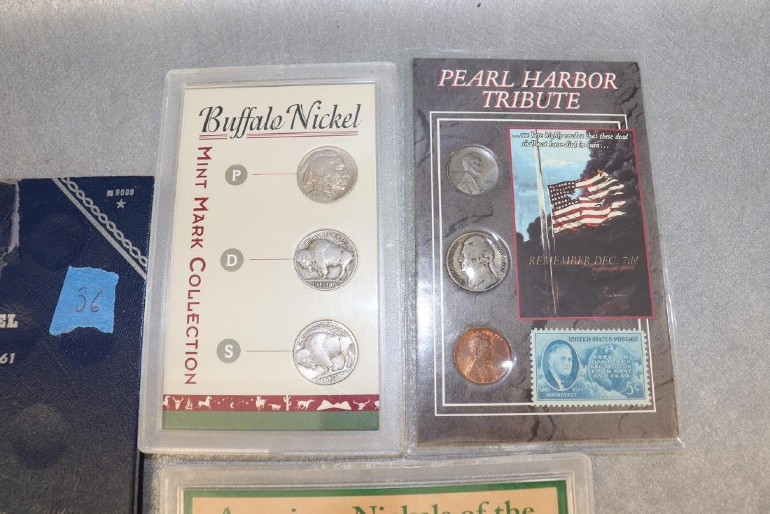 Lot of Nickel Collections - 2
