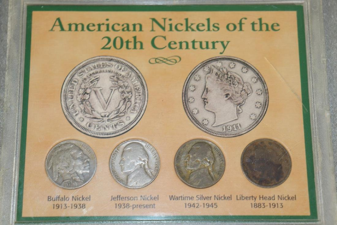 Lot of Nickel Collections - 5