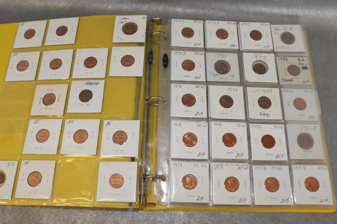Binder Lincoln Cents - 2