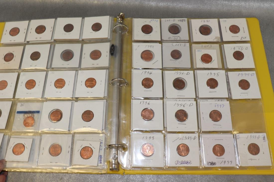 Binder Lincoln Cents - 5