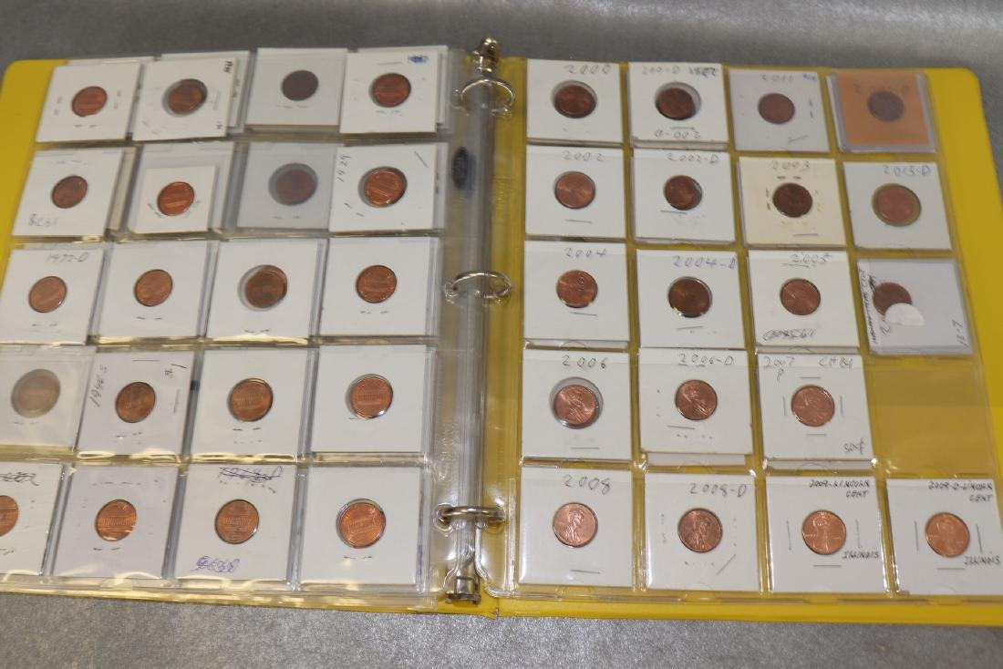 Binder Lincoln Cents - 6