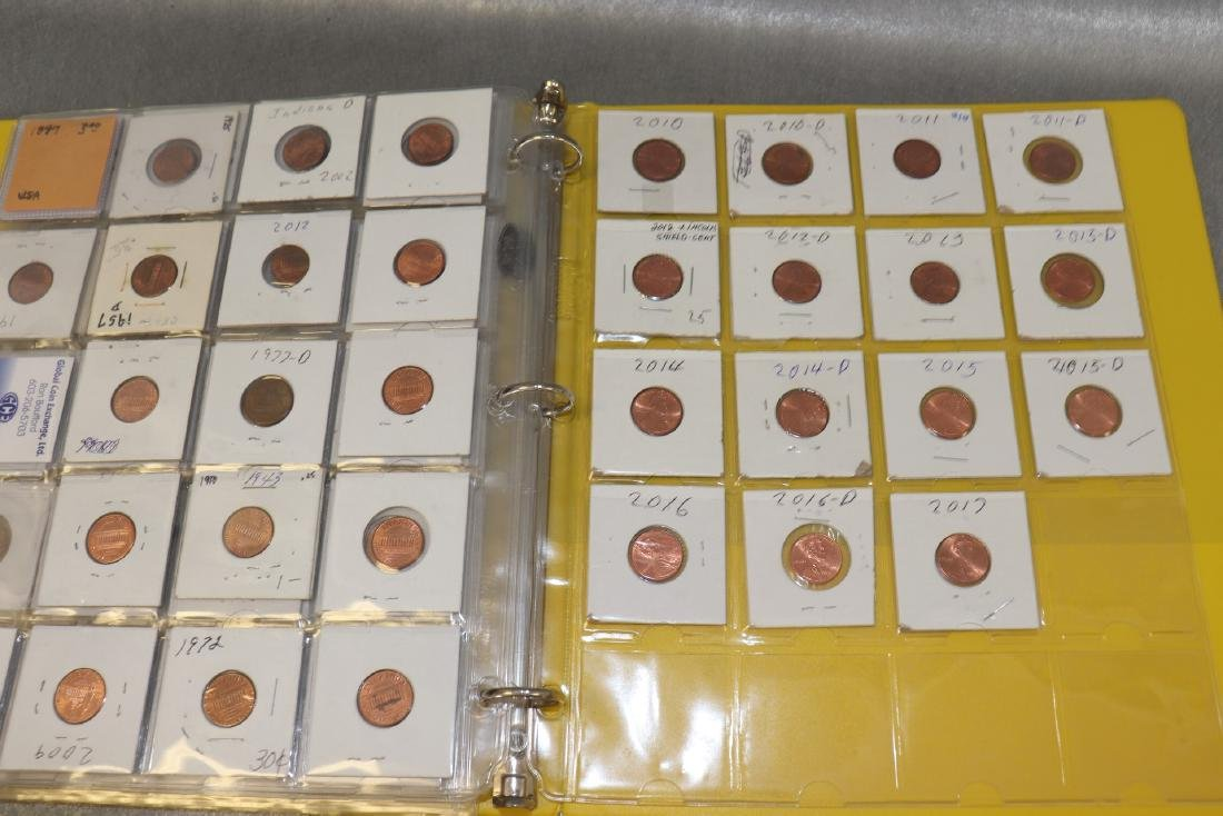 Binder Lincoln Cents - 7