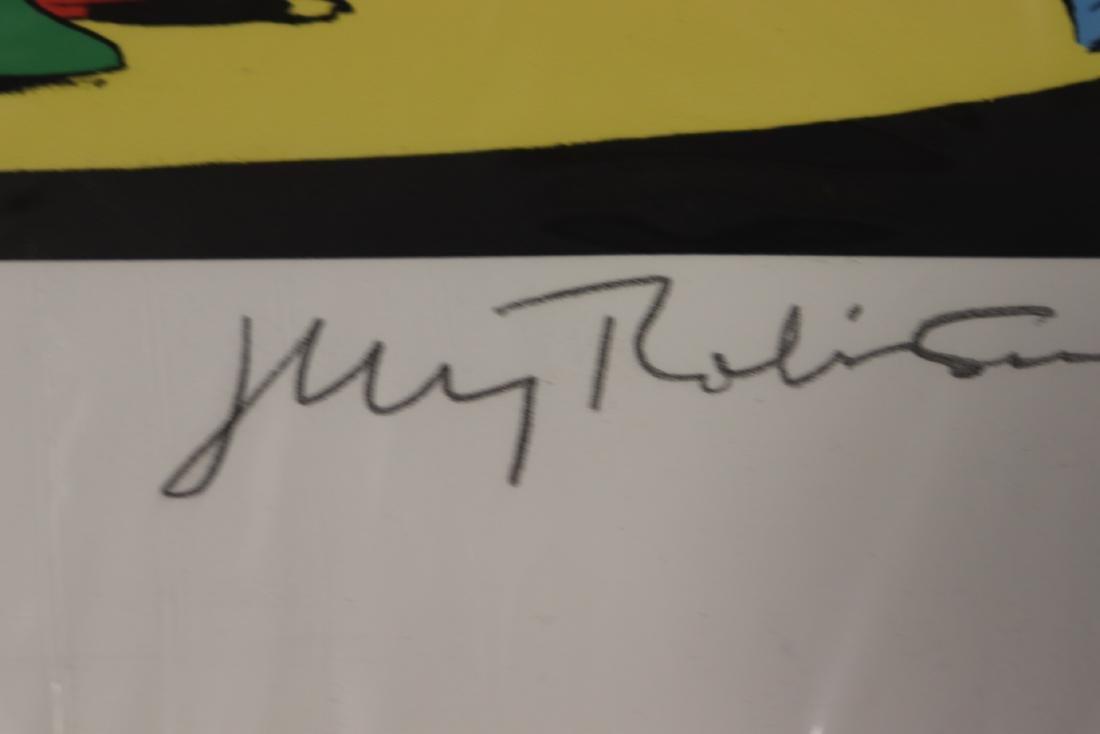 The Harlequin's Hoax Autographed Detective Comics Print - 5