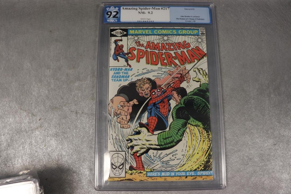 The Amazing Spiderman #217, PGX Graded 9.2