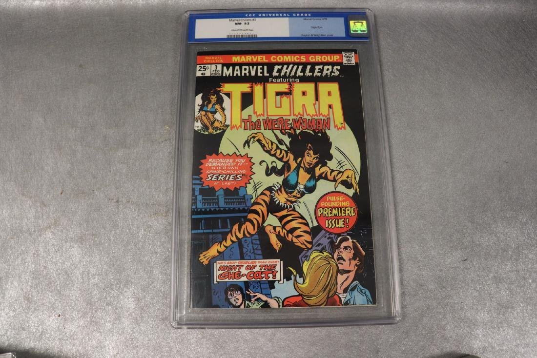 Marvel Chillers #3 CGC Graded 9.2