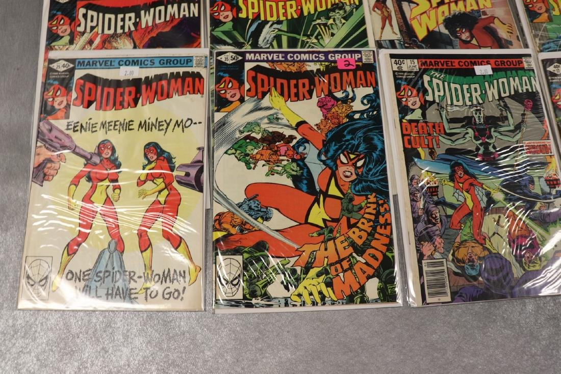 Lot of 22 Marvel The Spider-Woman Comics - 4