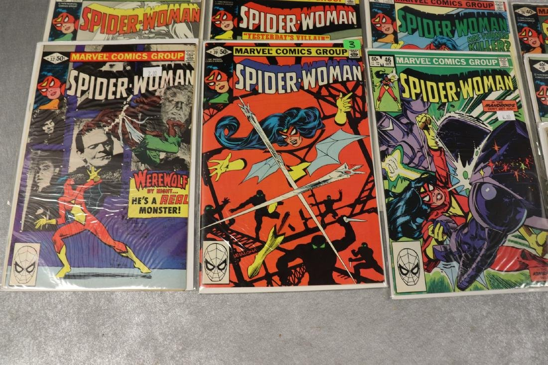 Lot of 22 Marvel The Spider-Woman Comics - 6