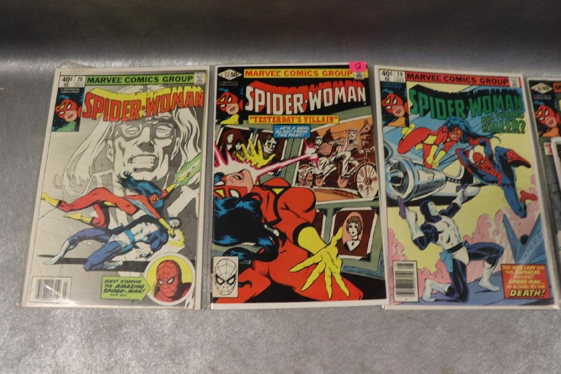 Lot of 22 Marvel The Spider-Woman Comics - 7