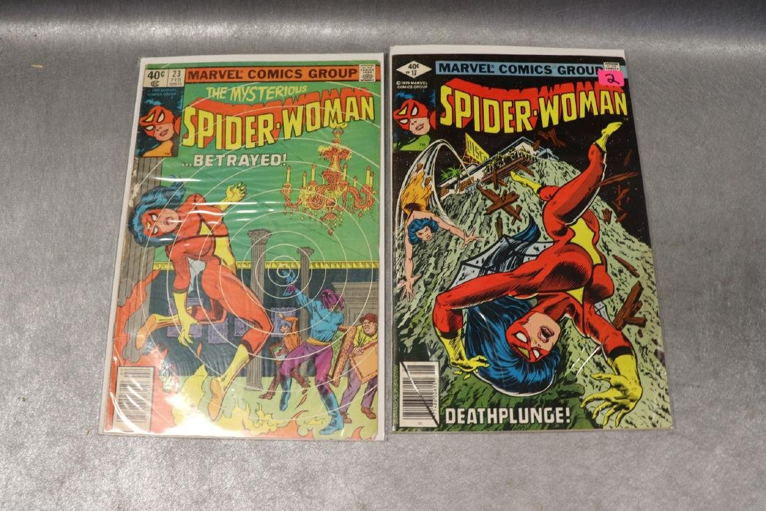 Lot of 22 Marvel The Spider-Woman Comics - 8