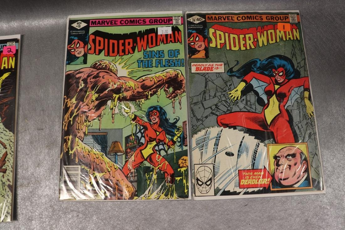 Lot of 22 Marvel The Spider-Woman Comics - 9